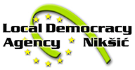 Agency for local democracy Niksic Logo